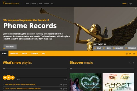 Pheme Records created by Celestial Sites (2015)